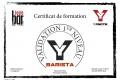 Certif BARISTA Sabine