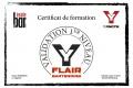 Certif Flair Bartending Yoann N
