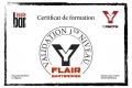 Certif Flair Bartending Alexandre M