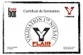 Certif Flair Bartending Sylvain R