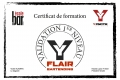 Certif Flair Bartending Vicken