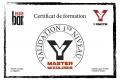 Certif MASTER Yannick L