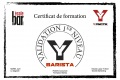 Certif BARISTA Morel