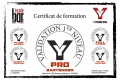 Certif PRO BARTENDER Cedric G