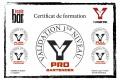 Certif PRO BARTENDER Sylvain G